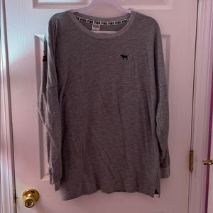Pink/Victoria Secret Long-Sleeve T-shirt